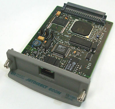 HP JetDirect 600n J3113A Ethernet Network Card Print Server + Warranty
