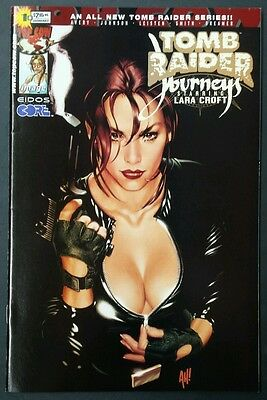 Tomb Raider Journeys #1 (Image,2001) Adam Hughes Variant! High Grade!