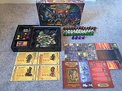 DUNGEONS AND DRAGONS BOARD GAME PARKER FANTASY ADVENTURE Missing One Rule Book