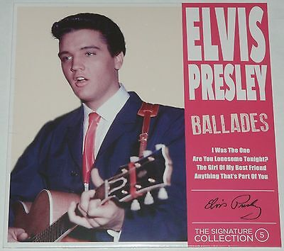 "Elvis Presley The Signature Collection Part 5 Ballades 7"" CLRD + CD LTD 500 WW"