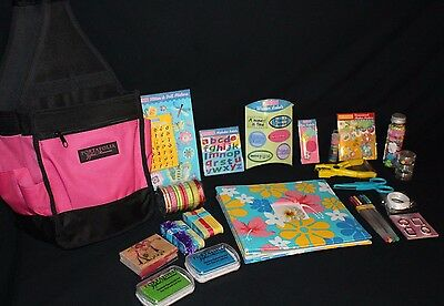 Portafolia Gifted Treasures Scrapbooking Gift Set Caddy Tote and Supplies