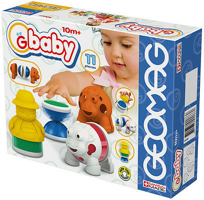 Geomag Gbaby Baby Farm 11 PCS Building Toy Made In Swiss