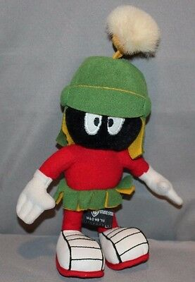 Looney Tunes Marvin the Martian Plush 1995 Warner Bros 10""