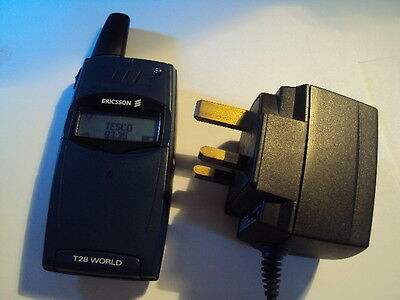 Original Ericsson T28 World Unlocked Mobile Phone Working+Charger No Battery