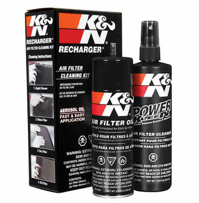 K&N Air Filter Cleaning Care Service Kit w/ Oil Cleaner FAST FREE SHIP! 99-5000