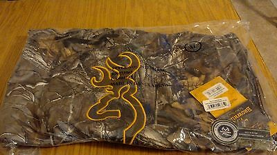 New Browning Wasatch Real Tree Hoodie Hunting Camo XL Hooded Performance Fleece