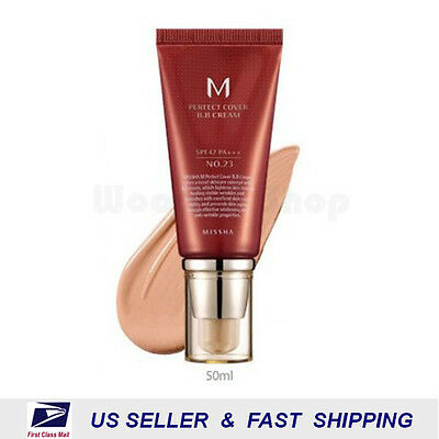 [ MISSHA ] M Perfect Cover BB Cream No.23 SPF42 PA+++ (Free Sample) +NEW+