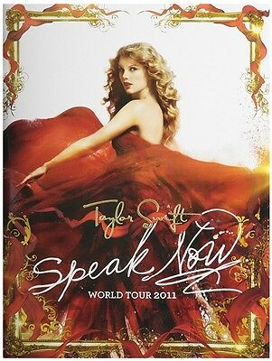 BRAND NEW Taylor Swift Speak Now World Tour 2011 Concert Program w/ Poster Book