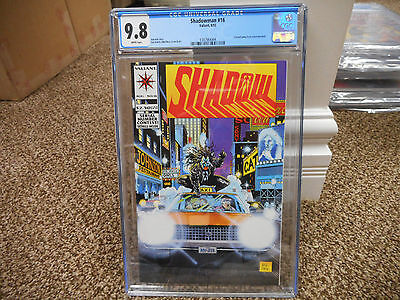 Shadowman 16 cgc 9.8 1st appearance of Dr Mirage Doctor Valiant 1993 movie MINT