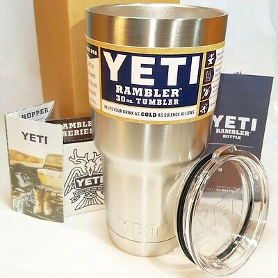 Yeti Rambler Colster Can Insulator Insulated Stainless Steel 12 oz Koozie Holder