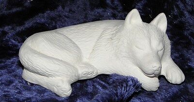Ceramic Bisque Ready to Paint Harry the Shelf Husky/Wolf