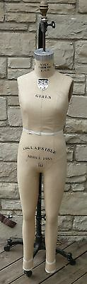 Sewing Wolf Co Nyc Dress Form 1988 Girls 10 Collapsible