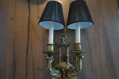 Conant Metal and Light of Vermont Real Brass Sconce