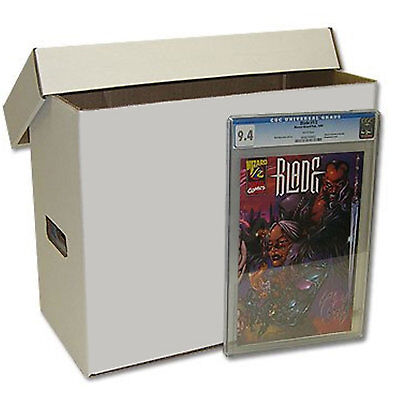 5 x Cardboard Comic Storage Box with Lid - Regular Holds up to 1000 Comics