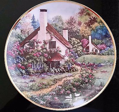 """Franklin  Mint  """"a  Cozy  Glen""""  Limited Edition Collector's  Plate"""