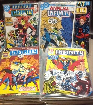 Infinity Inc. Vol 1 (1984) #1-53 Complete Set + Annuals 1-2 Todd Mcfarlane