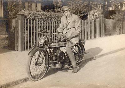 Douglas Motorcycle KE3127 old photograph NOT A POSTCARD