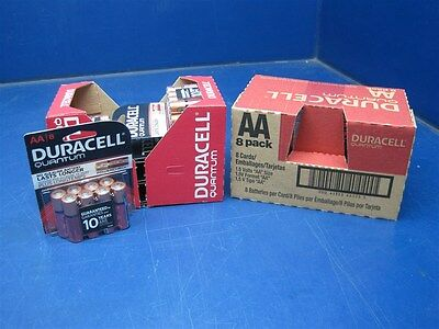 128 - Duracell Quantum AA Alkaline Batteries w/Power Preserve Dec 2024 FREE SHIP