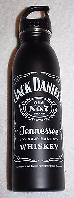 Jack Daniels Old Number 7 Tennesee Whiskey 24oz Stainless Steel Water Bottle NEW