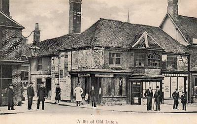 A Bit of Old Luton used postcard 1906 Wrench 3431