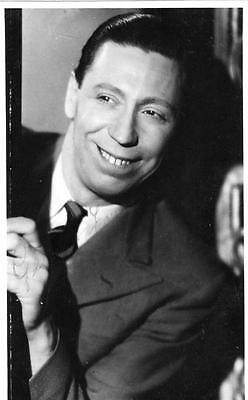George Formby unused  colour RP old postcard faint signature across front