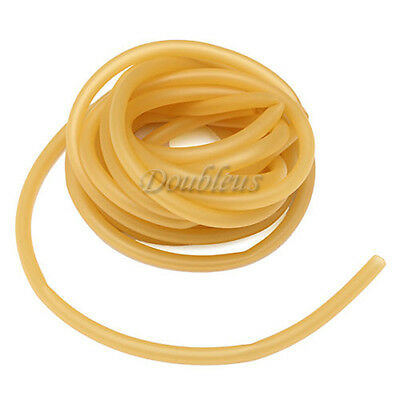 5M Natural Latex Rubber Surgical Band Tube Tubing Elastic outdoor Tool 6x9mm New