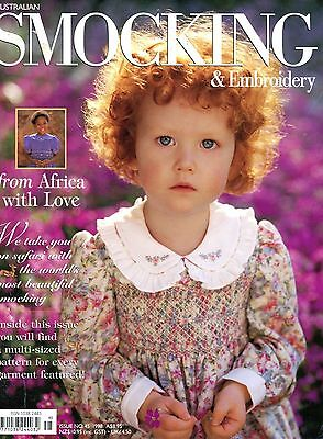 Australian Smocking & Embroidery Book No. 45. Africa Special - See Pictures