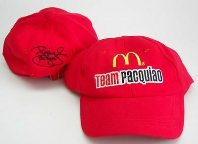 Manny Pacquiao CAP McDonalds Pacman Limited Edition