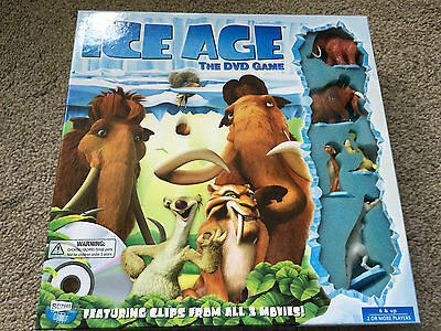 Disney Ice Age The Dvd Game Clips From All 3 Movies Manny Diego Ellie Sid Rudy