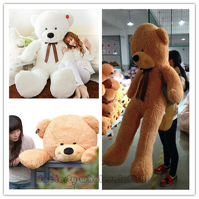 Giant Huge Big Stuffed Animal Teddy Bear Plush Soft Toy Pillow Cute Gift