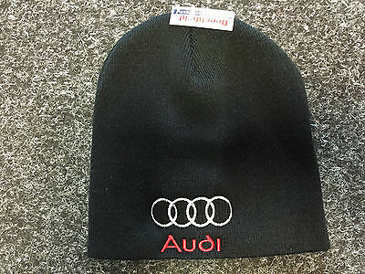 Embroidered  Audi logo Beanie Hat