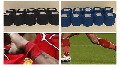 Sock Tape - 20 rolls ( football, equine, rugby, sports, physio)