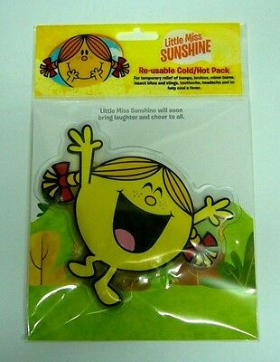 Set Of 4 ** Little Miss Sunshine ** Hot / Cold Pack ** Re-Useable ** Free Post
