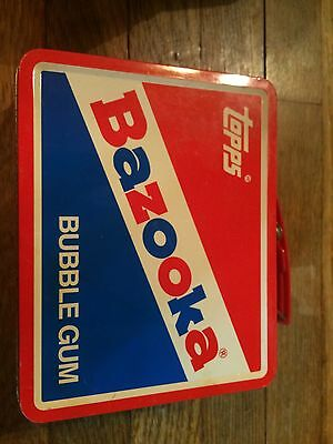 Bazooka Topps Tin Little Lunch Box Pencil Case