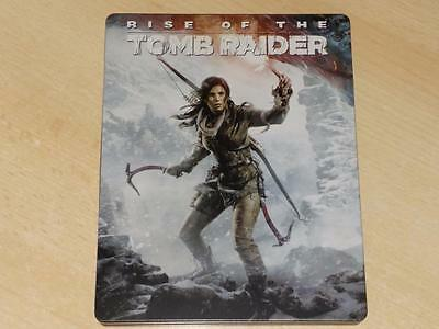 Rise of  The Tomb Raider Steelbook Case Only G2 (NO GAME) With Apex Predator DLC