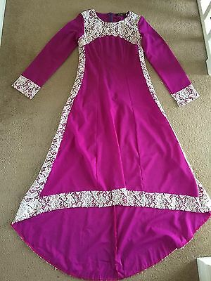Long Dress Gown Asian Indian Dress Partywear Tail Style