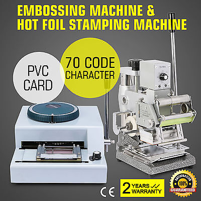 Embossing Machine Hot Foil Manual Credit For Id Pvc Cards Pvc Card Bronzing