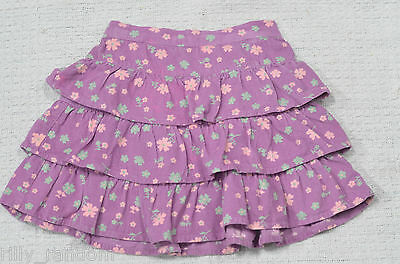 Little Girls Purple Tiered Style Skirt UK Age 2-3 Years from M&Co