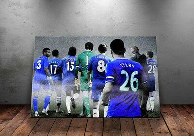 Chelsea FC 'Legends & Favourites' Wall Canvas A3