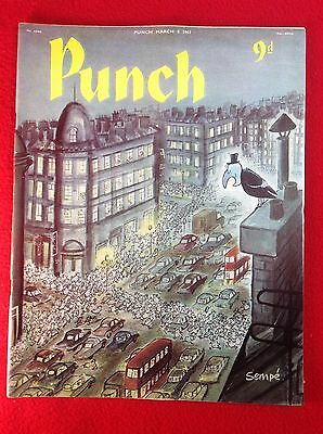 Vintage : PUNCH Magazine : 8th March 1961