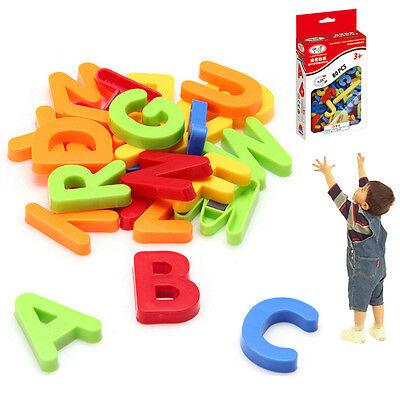 Kid Childen Learning Teaching Magnetic Alphabet Letters Numbers Fridge Magnets