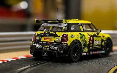 Scalextric C3742 Mini Cooper F56 Mini Challenge 2015 Slot Car