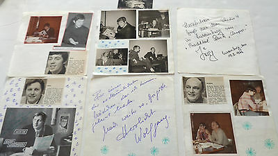 Radio Luxembourg Autographs /signed 1960S Dj Autographs And Candid Photos