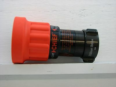 Elkhart Brass 4000-14 Fire Hose Nozzle,1-1/2 In Orange