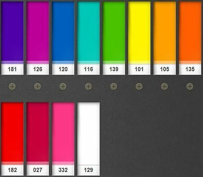 LEE Filters colourMAGIC – Saturates Pack