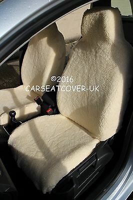 Pleasant Grey Sheepskin Faux Fur Furry Car Seat Covers Front Pair Alphanode Cool Chair Designs And Ideas Alphanodeonline