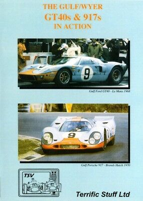 The Gulf/Wyer GT40s & 917s in Action (Porsche Ford Le Mans Targa Florio) DVD