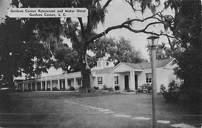 Gardens Corner South Carolina Restaurant Motor Hotel Antique Postcard K46847