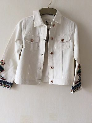 ZARA  Girls Denim Jacket  Age: 8Yrs (128cm) BNWT!