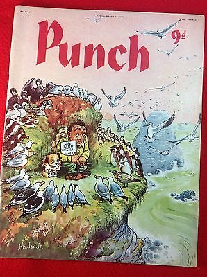 Vintage : PUNCH Magazine : 11th March 1959